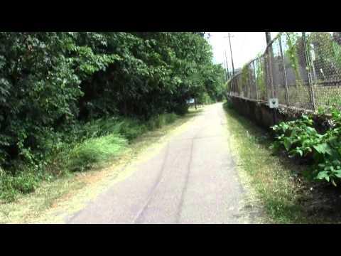 Neponset River Greenway: Boston MA Butler to Milton Part 3.