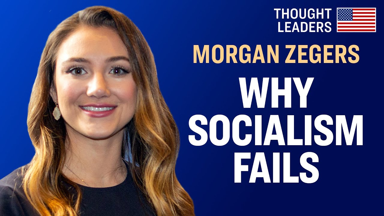 Hard Truths About Socialism People Often Miss—Morgan Zegers [CPAC 2020] | American Thought Leaders
