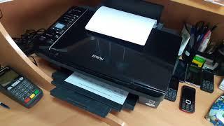 Печать на МФУ принтере Epson TX210