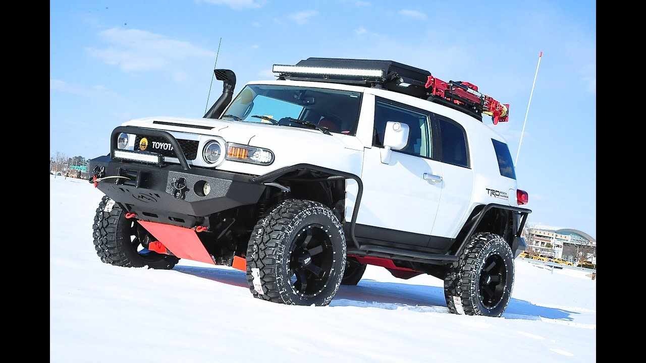 Davis Autosports Fully Built Fj Cruiser For Sale New