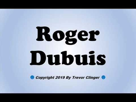 How To Pronounce Roger Dubuis - 동영상