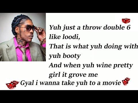 Vybz Kartel Ft Shenseea - Loodi (Double six) Lyrics (Raw)