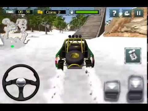 Extreme Stunts Snow Car Race