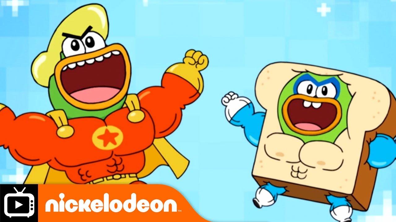Download Breadwinners | Hero Ducks | Nickelodeon UK