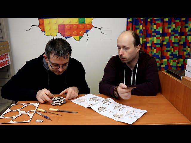 Ugears: Live gebaut - mit Jürgen