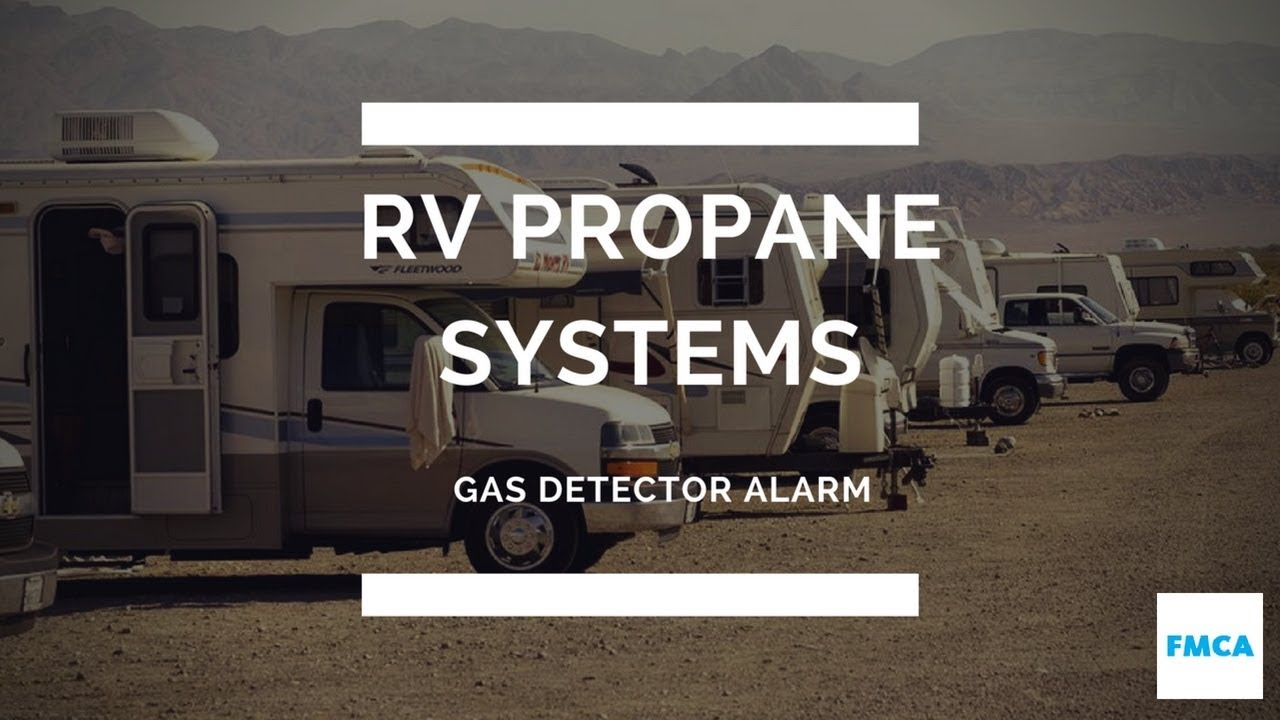 The Propane Alarm In Our RV Keeps Going Off