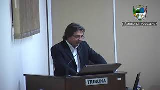 8ª Sessão Ordinária - Vereador Beto Feres