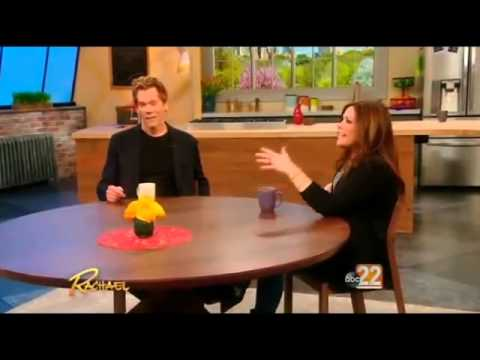 Kevin Bacon on The Rachael Ray Show (Apr 13th, 2015)