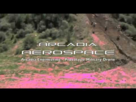 Arcadia Industries (Engineering) - European Defence Technology - Military Drone Prototype