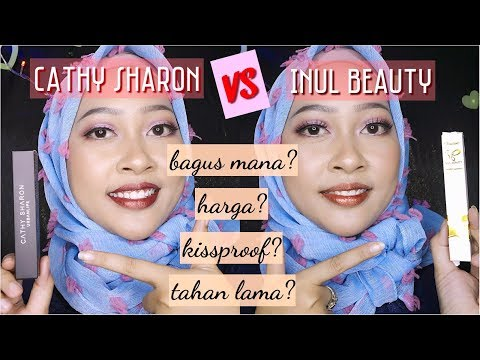 Inul Beauty Metallic Lipcream VS Cathy Sharon Urban Lips | Review Lipstick Selebritis Indonesia #3