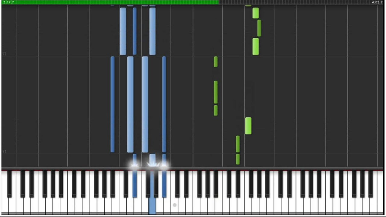 cruel angel thesis piano tutorial