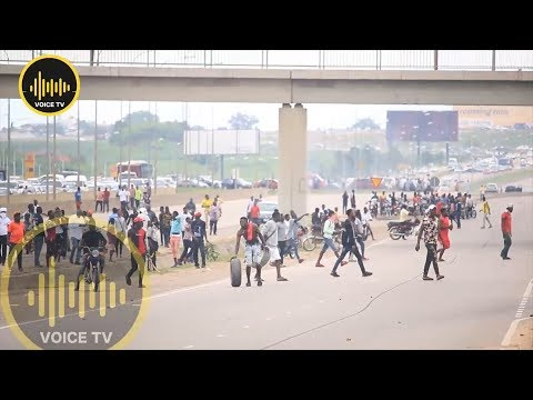 Nigeria Student Attacks South Africa Facilities In Abuja Nigeria