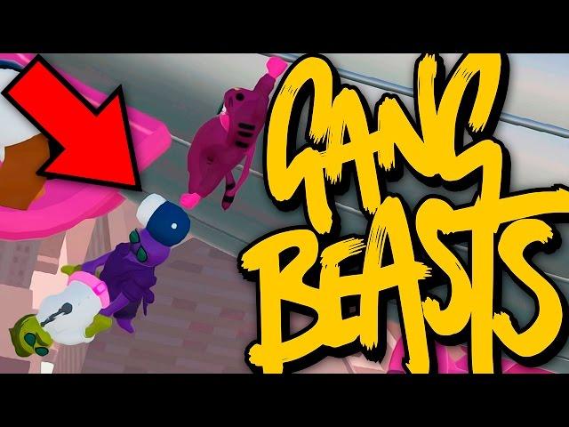 QUE MORTE TERRÍVEL! | Gang Beasts