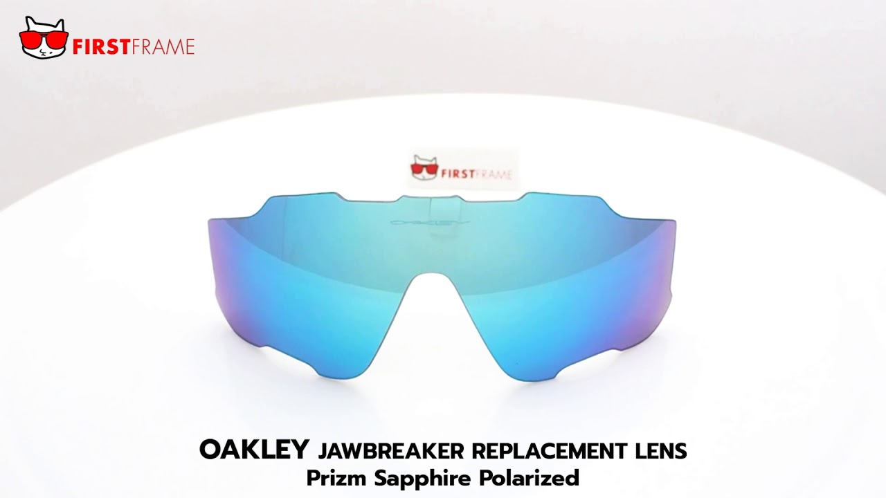 adffa1a7fca OAKLEY JAWBREAKER REPLACEMENT LENS   Prizm Sapphire Polarized - YouTube