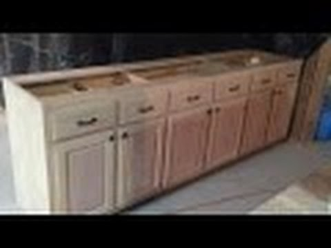 Woodworking -- Custom Kitchen Cabinets