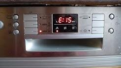Siemens Bosch Fehler Error E15 Geschirrspüler Spülmaschine pumpt nur noch ab AquaStop / dishwasher