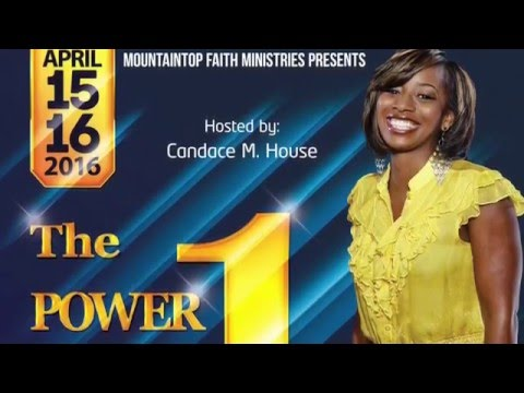The Power of One Singles Conference advertisement