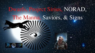Dwarfs, Project Sirius, NORAD, The Manna, Saviors, & Signs