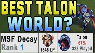 How this Talon hit Rank 1 EUW | 32 Kill Challenger Game