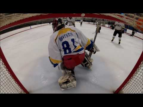 Bender Goaltender in Beer League Hockey  Attempted Michigan?!