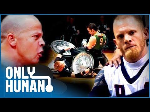 The Wheelchair Rugby Wars (Inspirational Survival Documentary) | Only Human