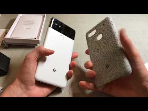 Official Pixel 2 XL Fabric Case Midnight Unboxing and Review