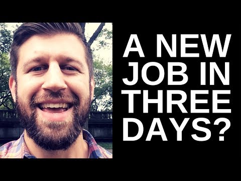 I GOT A NEW JOB (HOW TO GET AN SEO / DIGITAL MARKETING JOB)