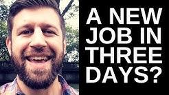 I GOT A NEW JOB (HOW TO GET AN SEO / DIGITAL MARKETING JOB)