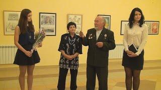ТВЭл - Выставка работ А.Русиной (07.09.15)