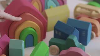 [지아지조] 원목 자동차 토이카(7pcs) + 토이카(…