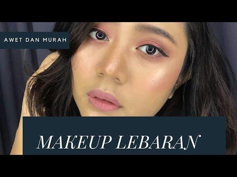 lebaran-makeup-tutorial-tahan-lama-pake-drugstore-untuk-kulit-tanned-2018
