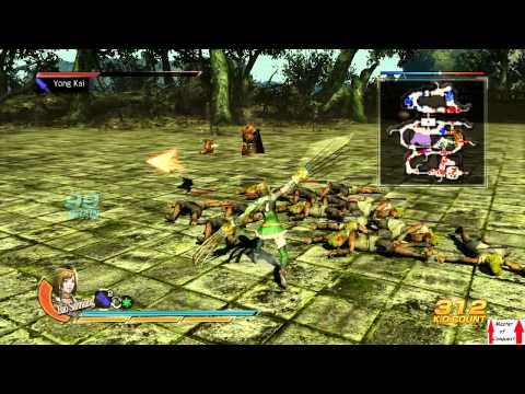 Dynasty Warriors 8 Shu Campaign Hypothetical Battles Part 4 - Pacification of Nanzhong (Star Guide)
