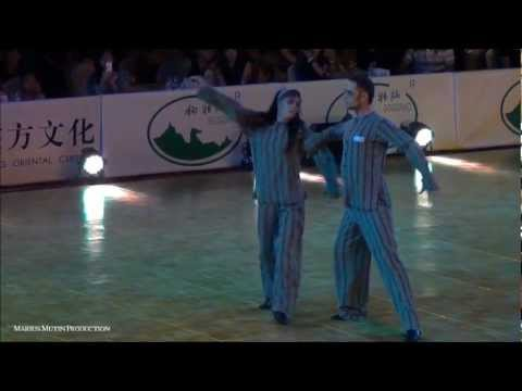World Freestyle Latin 2012 - Final - Vladimir Karpov & Mariya Tzaptashvilli