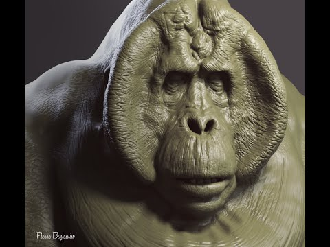 ZBrush sculpt of King Louie, from the Jungle Book - Fan Art