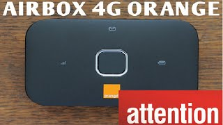 AIRBOX 4G ORANGE attention