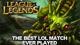 The Best LoL Match Ever Played