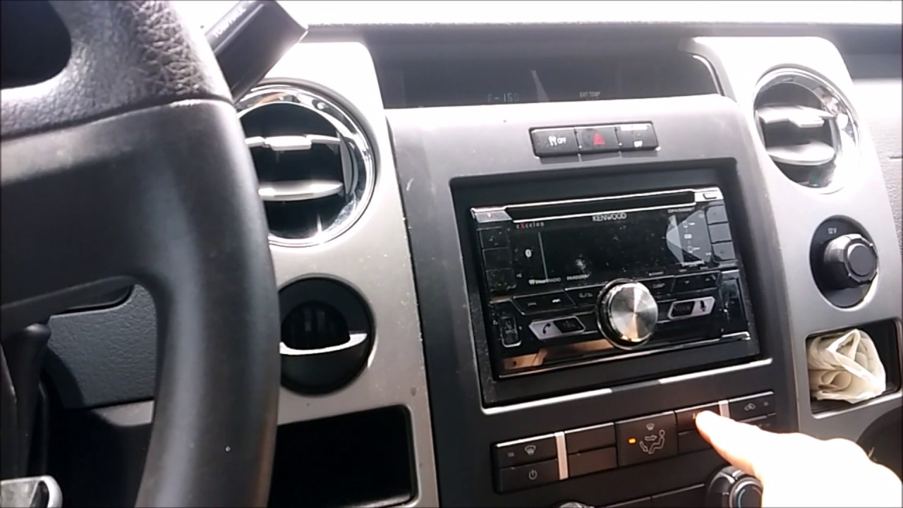 F 150 Makes A Clicking Sound Behind The Dash Youtube