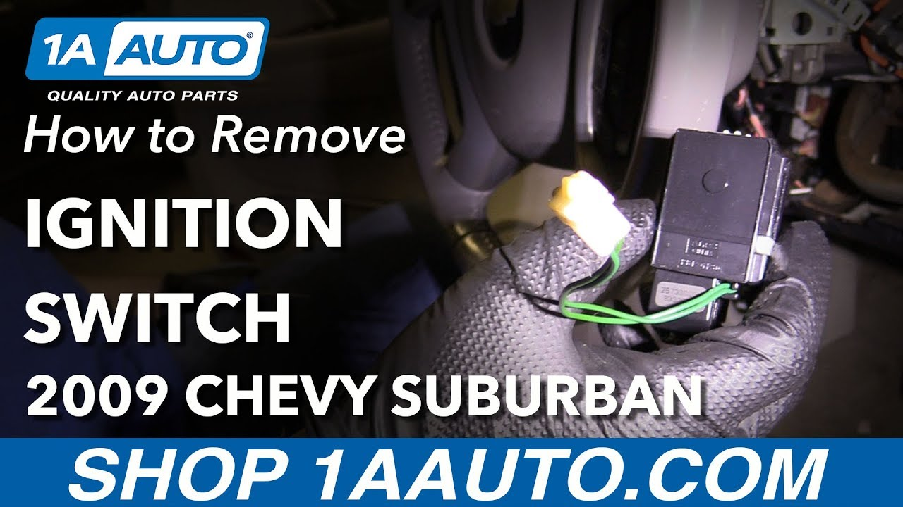 how to replace ignition switch 07 16 chevrolet suburban [ 1280 x 720 Pixel ]