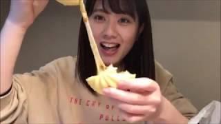 20190213 清水麻璃亜 (AKB48 チーム8) SHOWROOM.