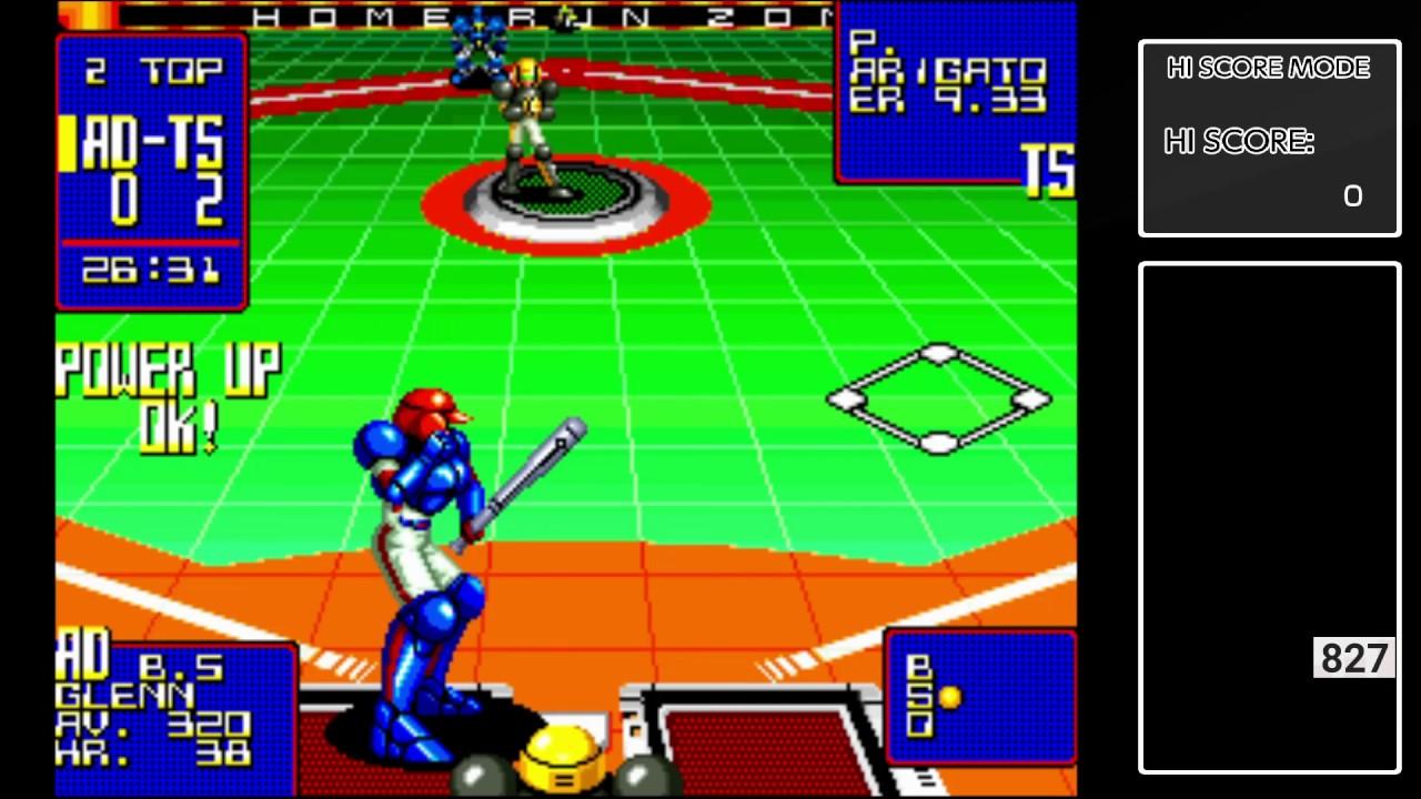 aca neogeo super baseball 2020 xbox one gameplay youtube