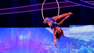 Amelle Berrabah's Aerial Hoop Performance to 'Man in the Mirror' - Tumble: Episode 1 - BBC One