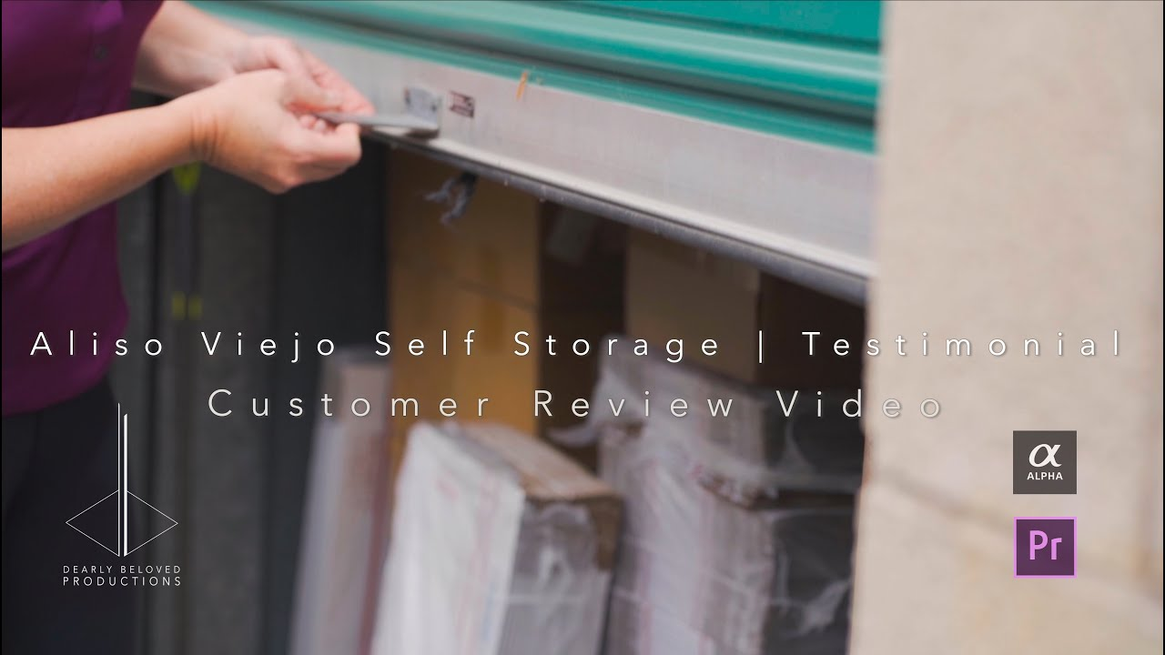 Corporate Videography | Aliso Viejo Self Storage Customer Testimonial | Aliso Viejo, CA