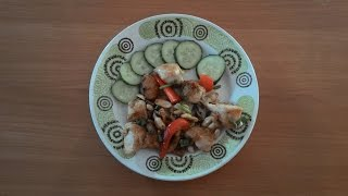 Курица кунг-пао (гунбао). Китайская кухня.