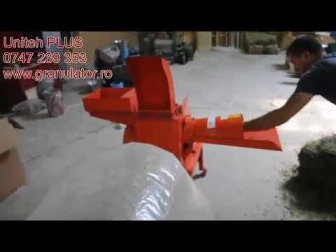 Tocator furaje UNITEH 400-30, circa 1000 kg/oră