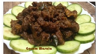Mutton Piralan / Mutton Roast With Coconut Milk Kerala Style
