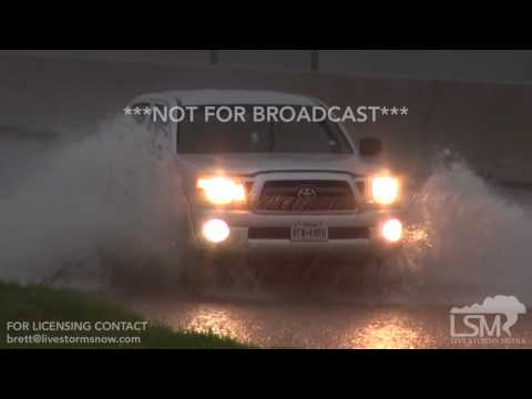 8-8-2017 Beaumont, Tx Port Arthur, Tx Bridge City, La Heavy Rains, street flooding