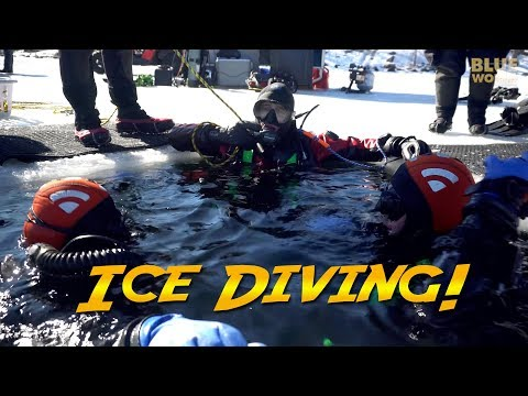 Ice Diving in New Hampshire | JONATHAN BIRD'S BLUE WORLD