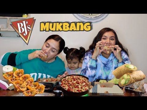 BJ'S MUKBANG WITH OUR BABY; LOUD CHEWING AND CRUNCHING