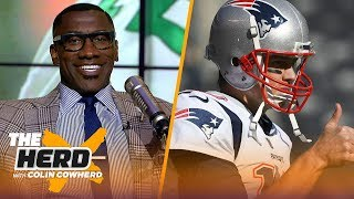 Shannon Sharpe joins Colin to talk Tom Brady's play, Lamar Jackson's future & more | NFL | THE HERD