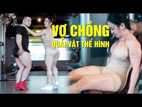 Buổi Tập Đùi Trước Cùng Vợ Chồng Quái Vật Thể Hình Việt Nam